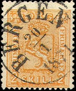 35880 - 1867 Mi.12, celé raz. Bergen, kat. 40€