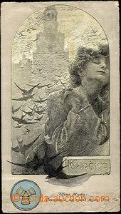 35940 - 1930 MUCHA Alfons (1860–1939), Vzpomínka na rodné Ivanč