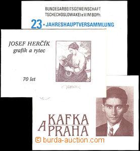 35990 - 1992 soukromé vydání známkových sešitků, Josef Herč�