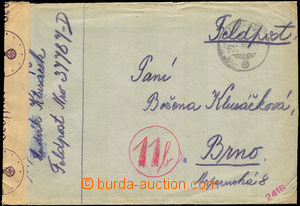 36007 - 1944 letter to Protectorate, sender FP 37787-D, CDS FP 4.10.