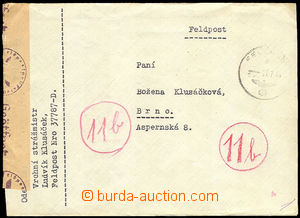 36008 - 1944 letter to Protectorate, sender FP 37787-D, CDS FP 27.7.