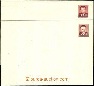 36049 - 1950 COB5, 2 pcs of various shades printed stmp, c.v.. 800CZ