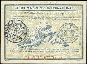 36072 - 1912 mezinárodní odpovědka 14ct, římský vzor, tiskárn