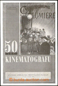 36103 - 1946 Prague,  Exhibition 50 years cinematograph,  B/W, repro