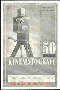 36106 - 1946 Praha, Výstava 50 let kinematografu, čb, kamera Kří