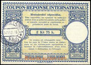 36148 - 1931 CMO2 international cupon with cnl.Mariánské Lázně/