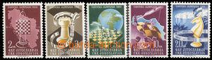 36203 - 1950 Mi.616-20 Šachová Olympiad, complete., mint never hin