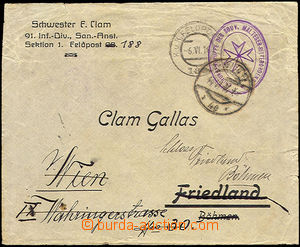 36275 - 1915 MALTESER-RITERORDENST / CHIRURGENGRUPPE DES SOUV. ovál