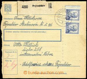 36315 - 1946 I.C. ADOLFOVICE  larger part parcel of dispatch-note fr
