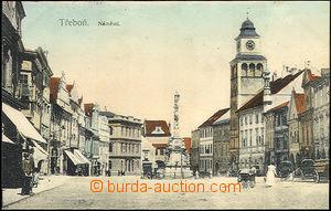 36331 - 1912 Třeboň - Square, publ.. K. Gärtner, Us, good conditi