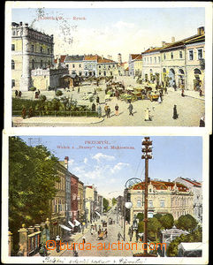 36358 - 1910-14  Przemyśl 2x, Jaroslaw, Czestochowa - 4 kusy pohled