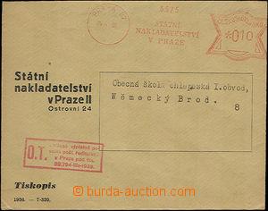 36377 - 1939 předběžný OVS jako Obchodní tiskopis(!), Státní