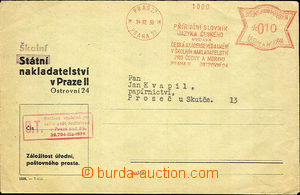 36383 - 1939 OVS jako obchodní tiskopis, Příruční slovník jazy