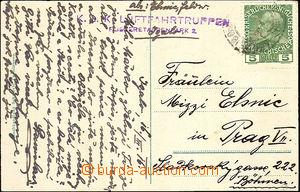 36497 - 1916 KUK LUFTFAHRTRUPPEN / FLIGERETAPPENPARK 2  fialové útva