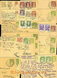 36547 - 1922-26 CZECHOSLOVAKIA 1918-39  selection of 22 pcs of PC 40