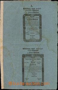 36552 - 1813 Nařízení - cirkulář s vloženým vzorem antycipačních lis