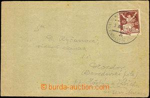 36603 - 1921 XIII. Univ. Kongreso de Esperanto / Prague 3.VIII.21, m
