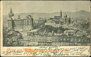 36619 - 1898 TEPLICE (Teplitz-Schönau) - synagoga, celkový pohled