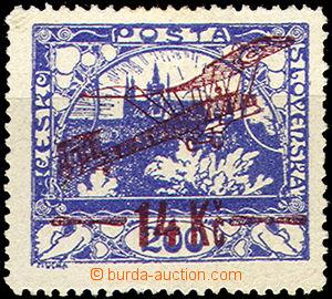 36699 - 1920 I.emise  Pof.L1A, 1 kratší zoubek, stopa po nálepce,