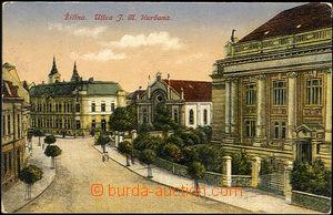 36701 - 1920 Žilina  stará synagoga, ulica J.M. Hurbana, barevná,