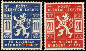 36727 - 1918 Pof.SK1-2 Scout, hinged, c.v.. 250CZK