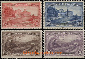 36740 - 1928 Mi.141-144, smaller folds in stamp. 141 and 142, very l