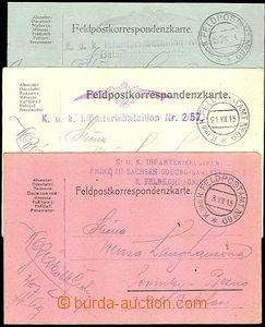 36823 - 1914-15 K.u.K Feldpostamt (feld post off.) No.69, CDS field