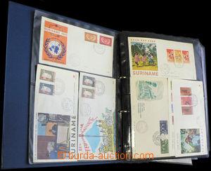 36838 - 1959-80 DUTCH COLONIES  sestava 230ks FDC ze zemí jako Suri
