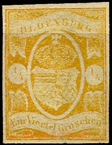 36864 - 1861 Mi.9, pěkný střih, luxusní, kat. 380€