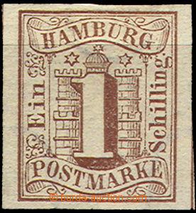 36865 - 1859 Mi.2, very wide margins, c.v.. 120€