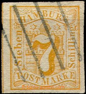 36866 - 1859 Mi.6, wide margins, c.v.. 50€