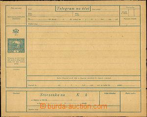 36931 - 1919 CTÚ1Pa, český text žlutohnědý papír, luxusní ne