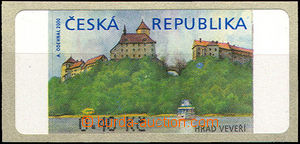 36976 - 2000 Pof.AT1 Veveří (castle),  0,40CZK without *, with pro