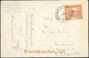 37023 - 1919 předběžné rakouské raz. VLP 430/ STRAMBERG - STAUD
