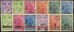 37064 - 1917-20 Mi.4-9, 11-16, kat. 66€