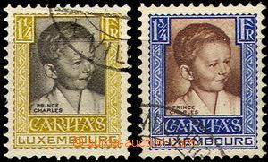 37086 - 1930 Mi.230-1 Kinderhilfe, koncové hodnoty, čistá razítka, s