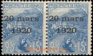 37112 - 1920 Mi.40, Svatba princezny Charlotty, 2-páska (počítána je