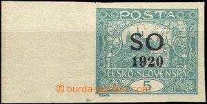 37140 -  Pof.SO3, 5h blue-green with L margin