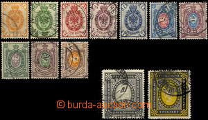 37188 - 1889 Mi.41y-50y, 72, 74, c.v.. 30€