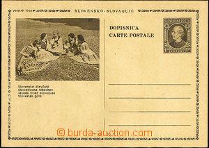 37268 - 1939 CDV4/20 Slovak. girls, without defects, c.v.. 250SKK