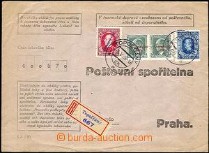 37279 - 1939 předtištěná obálka Poštovní spořitelny Prahy, z