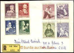 37305 - 1976 R dopis do ČSR, vyfr. zn. Mi.929-32, 1087-90, lehčí