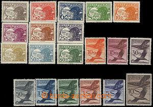 37313 - 1925 Mi.468-487 Letecké, pěkná kvalita, kat. 380€