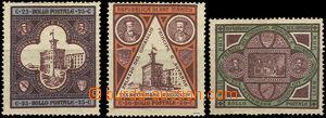 37319 - 1894 Mi.23-25 Vysvěcení, light hints labels, worse quality