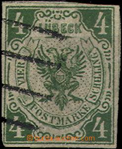 37356 - 1859 Mi.5, Znak, nezoubkovaná, zachovalá, kat. 750€