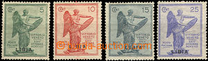 37384 - 1922 Mi.45-48, Italian stamp. Mi.144-147 with black overprin