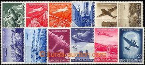 37401 - 1940 letecké Mi.377-388, kat. 50€