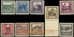 37414 - 1923 Mi.433-41, Provincial Capitals, good quality, cat. 90€