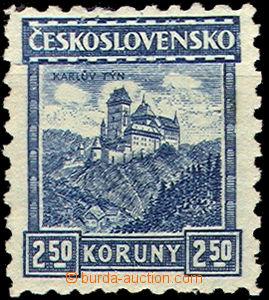 37461 - 1926 Pof.222, Malé krajinky, Karlštejn bez průsvitky, kat