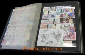 37470 - 1969-70 EUROPE  selection of clear stamp. in old stockbook,